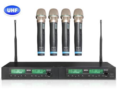 MIPRO ACT-312T UHF四頻道無線麥克風 配4支手握麥克風