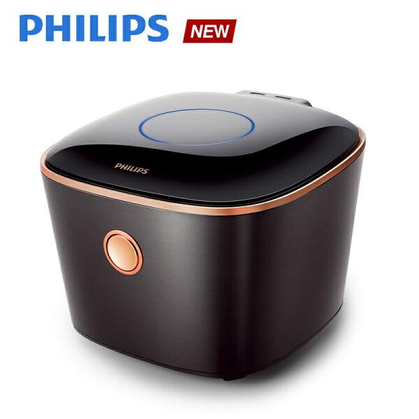 預購【飛利浦 PHILIPS】IH電子鍋-曜石黑(HD4568)送淨水器(WP3812)