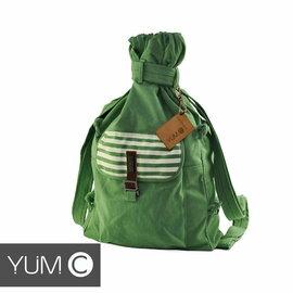 【風雅小舖】【美國Y.U.M.C. Melrose休閒系列Veshmeshok Rucksack 帆布束口袋後背包 青瓷綠】電腦包/雙肩包 0