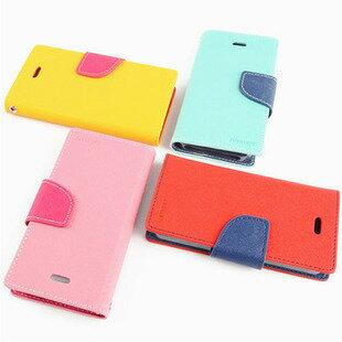 ASUS華碩 ZenFone 2 5.5吋保護套 撞色手機皮套 ZE550ML 雙色皮套保護殼