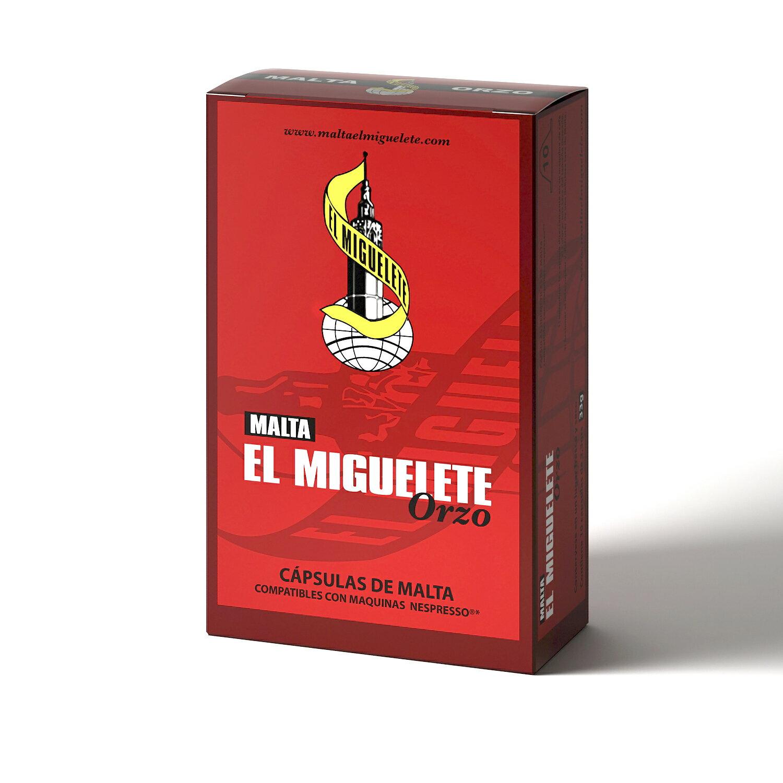 Pack 120 cápsulas MALTA compatibles con Nespresso 0