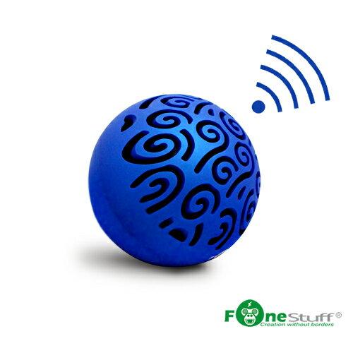 [福利品] FONESTUFF SPB1000魔球無線藍芽攜帶型喇叭(藍)