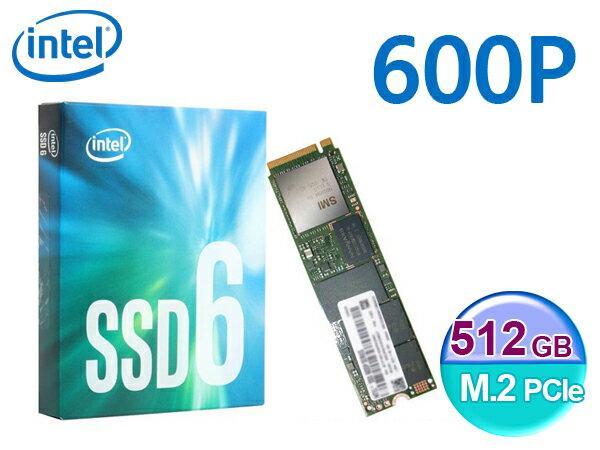 INTEL 600P 512G 512GB M.2 PCIe 2280 SSD 固態硬碟 五年保