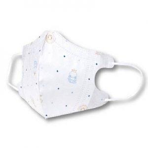 KUKU酷咕鴨 3D超立體醫用口罩 - 兒童專用 KU7034