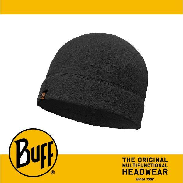 BUFF 西班牙魔術頭巾 POLAR保暖系列 保暖帽 ^~素面黑^~ BF110929~9
