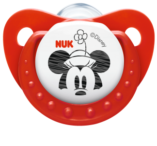『121婦嬰用品館』NUK 米奇安睡型矽膠安撫奶嘴 - 一般