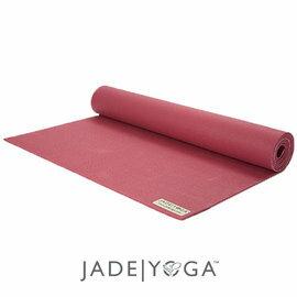 Jade 天然橡膠瑜珈墊 173cm-覆盆紫