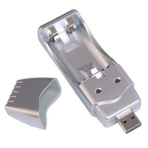 【盈佳資訊】USB鎳氫/鎳鎘電池充電器~方便攜帶隨處可充