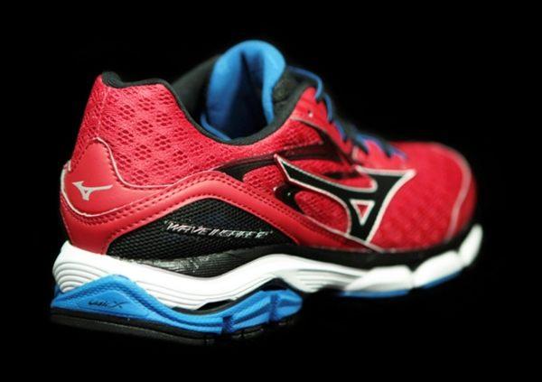 Mizuno美津濃 男款慢跑鞋 WAVE INSPIRE 12 支撐型 -湛藍紅 2