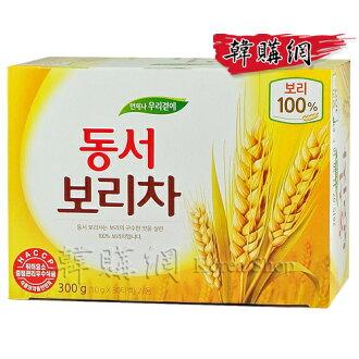 【韓購網】韓國Dongsuh麥茶300g(30入)★東西麥茶100%麥★零卡零咖啡因