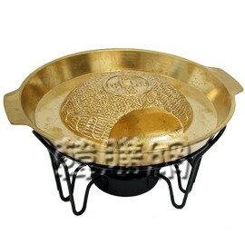 【韓購網】韓國小銅盤+酒精爐架★烤肉火鍋二用,買回家輕輕鬆鬆吃韓國銅盤烤肉喔