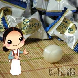 【韓購網】韓國薄荷糖50g(小包)★吃完口氣清新喔,從大包原裝散裝成小包,約15顆★韓國糖果薄荷糖韓國進口糖果涼糖