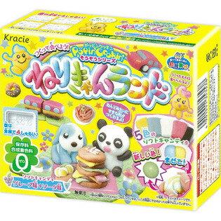 有樂町進口食品 日本 DIY知育果子 Kracie 創意DIY-糕點小達人 捏捏樂軟糖 4901551353538