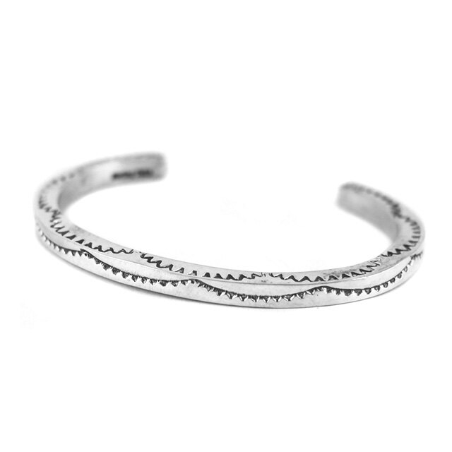 【海外訂購】【Indian Jewelry】印地安圖騰方形手鐲(花紋隨機出貨)(Navajo-026-R) 7