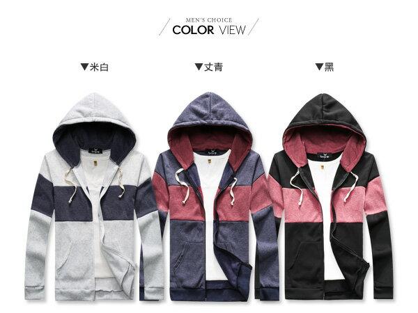 ☆BOY-2☆【OE10563】美式刷毛拼接連帽外套 1