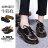 格子舖*【KMC03】專櫃款3孔高質感全牛皮 漸層復古色澤 超耐磨透明牛筋底 馬汀靴 馬丁鞋 休閒皮鞋 2色 3