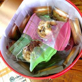 【我的手作幸福】【綜合精選夏威夷豆塔5入+純麥芽牛軋蔥餅10入.禮盒】幸福手作 禮盒 伴手禮