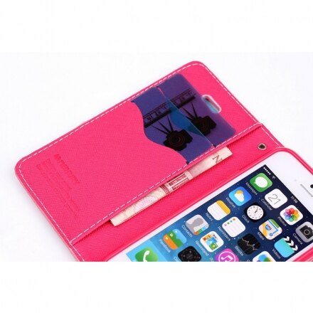 Mercury 二代 iPhone 6/6s 6+/6s+ 馬卡龍雙色手機皮套 紫粉黑多色可選 1
