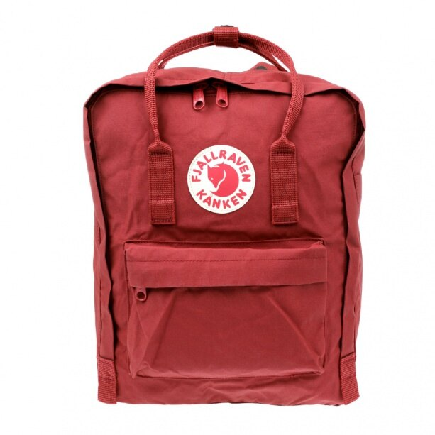 【Fjallraven Kanken 】K?nken Classic 326 Ox Red 公牛紅 1