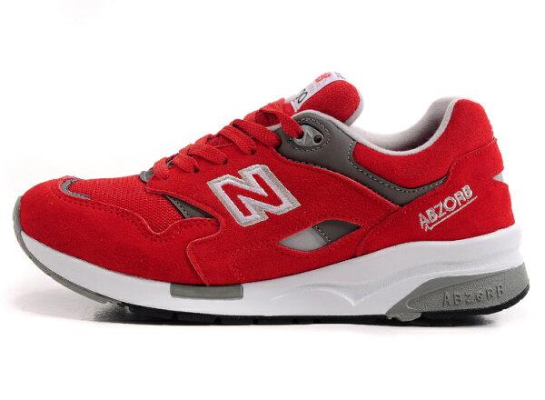 NEW BALANCE 1600 余文樂款 男生慢跑鞋 休閒 鞋紅白