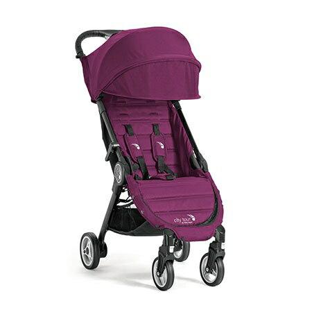 【贈杯架+前扶手】美國【Baby Jogger 】city tour 輕量旅行車/手推車(僅6.6kg) -4色 4