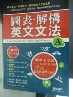 【書寶二手書T2/語言學習_QJL】圖表.解構英文文法(A)_葉珍珍