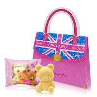 婚禮小物推薦到一定要幸福哦~~英國貝爾-熊熊抗菌皂50g-手提包款, 婚禮小物,送客禮,姐妹禮