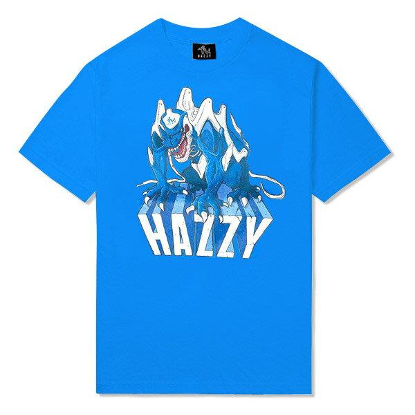 HAZZY KAMIKAZE II TEE - HZ141108BL 限量 Reebok 怪獸 Shawn Kemp 藍色 三天發貨 [新品發售免運]