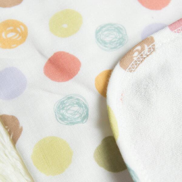 Minerva米諾娃 - 繽紛紗布大浴巾 (毛巾+紗布)