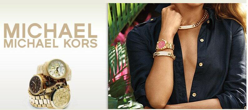 美國Outlet正品代購 MichaelKors MK 復古羅馬鑲鑽馬腦綠  陶瓷  三環 手錶 腕錶 MK6065 8