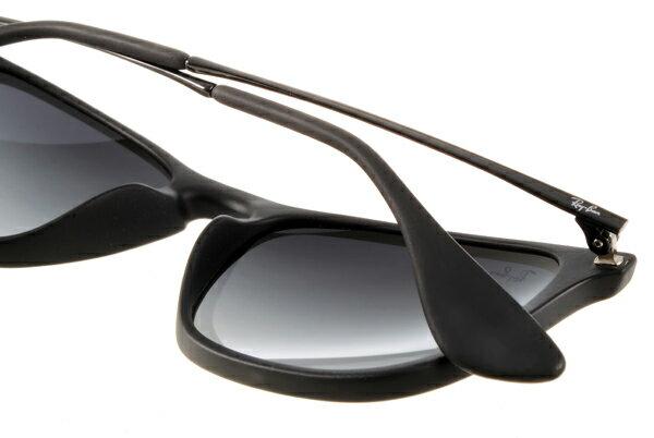 Ray Ban 雷朋 黑邊黑鏡 RB4187 太陽眼鏡 5