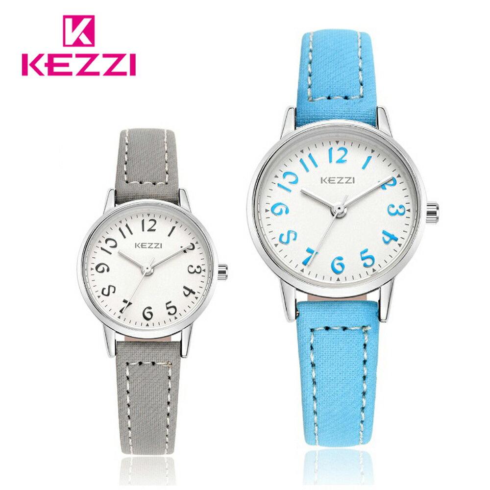 KEZZI 珂紫 K-1564 S 時尚學院風多色搭配款手錶 0