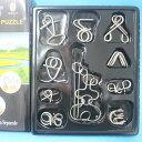 智力鐵環 魔術道具 智力環扣 智力扣(盒入)/一盒10款入{促199}~超值包裝~