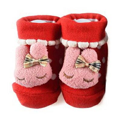 【悅兒樂婦幼用品舘】PEIBOU 貝柔 妮妮兔可愛鞋型襪(P6790)