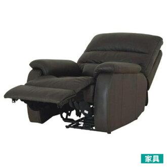 ◎全皮1人用頂級電動可躺沙發 BELIEVER DBR (勿用點數)