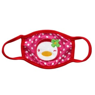 『121婦嬰用品館』PUKU 派對保暖口罩 - 紅 0