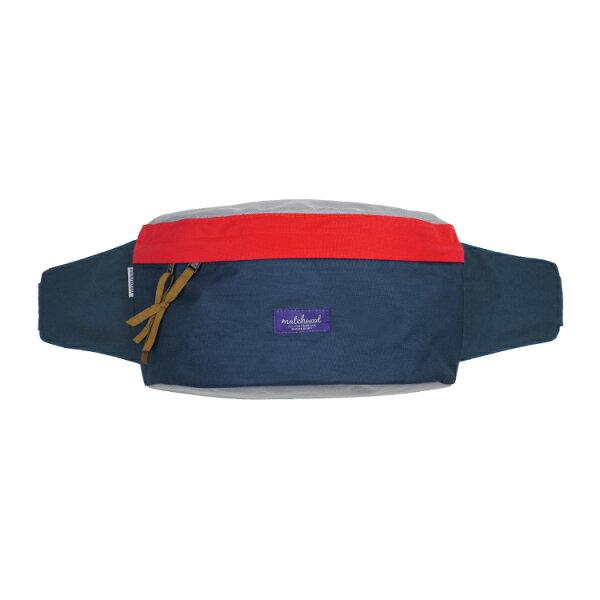 REMATCH - Matchwood Handy 腰包 藍紅色款 斜背包 側背包 隨身包 胸前包 單車運動 / 旅遊休閒隨身 / HEADPORTER / Herschel / Supreme 可參考