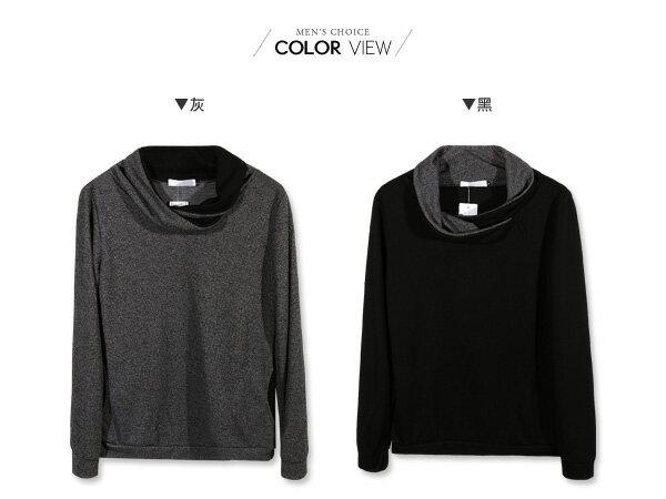 ☆BOY-2☆【NQ96018】韓系垂領針織薄長袖上衣 1