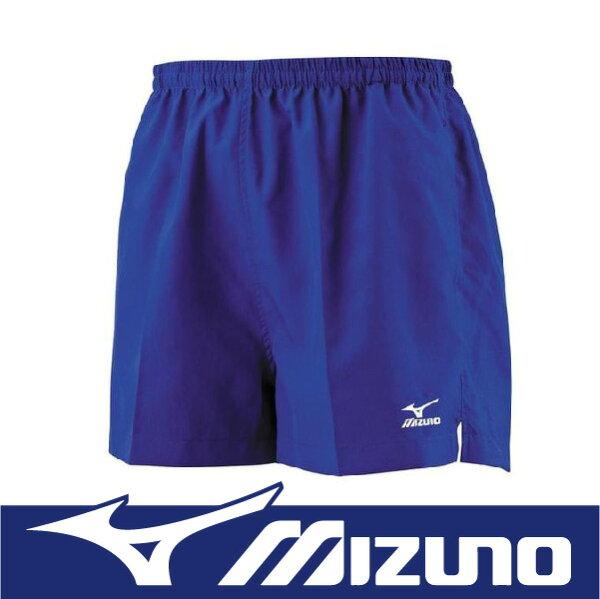 【特價7折!】萬特戶外運動 MIZUNO 美津濃 J2TB4A5416 男路跑褲 舒適 背部口袋設計 深藍色