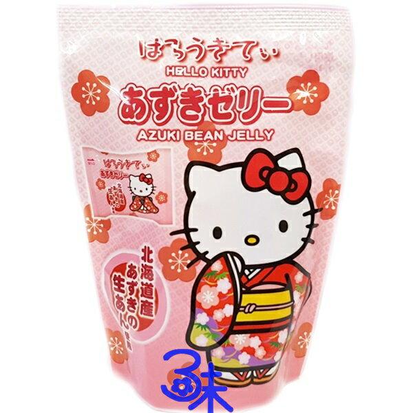 (日本) 浪速 凱蒂貓果凍-紅豆果凍  1包 106 公克 特價 53 元 【4902398700547 】浪速 Hello Kitty 紅豆果凍