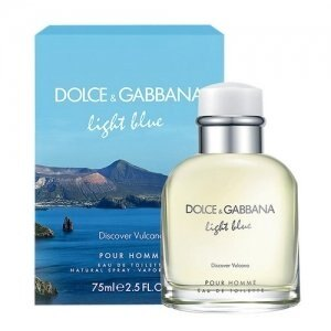 """Dolce and Gabbana """"Light Blue Discover Vulcano"""" Pour Homme 75ml 0"""