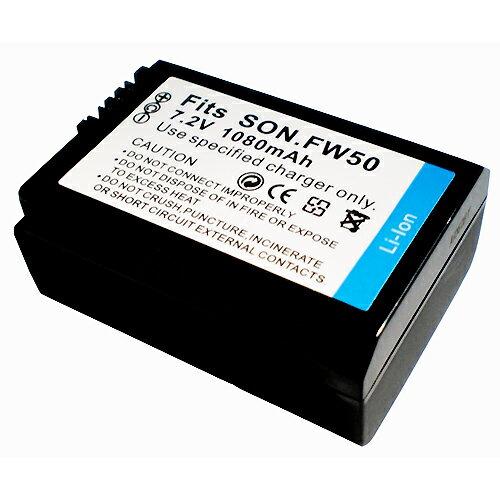 SONY NP-FW50 相機電池 FW50 FW-50 NEX-3 NEX-5 NEX-7 NEX3 NEX5 NEX6 NEX7 ALPHA A33 A35 A37 A55 NEX-C3 C3 NEXC3 NEX5N NEX5R NEX-F3 1080mAh