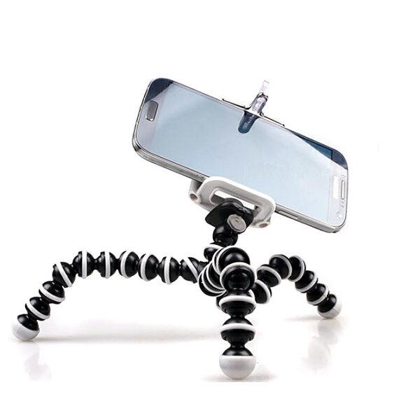八爪章魚自拍支架 手機支架 小章魚 三腳架 猩猩腳架 手機夾 通用型 共用型 相機支架