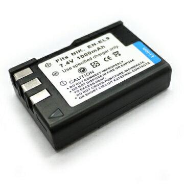 Nikon EN-EL9 ENEL9 相機電池 D40 D-40 D40x D60 D-60 D5000 D-5000 D3000 1000mAh
