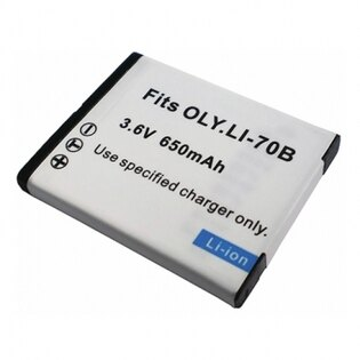 Olympus Li70B Li-70B 相機電池 X940 FE4020 FE4040 X-940 FE-4020 FE-4040 VG110 VG120 VG130 VG140 650mAh