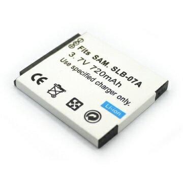 Samsung SLB-07A SLB07A 相機電池 ST50 TL100 TL220 ST500 ST550 ST600 PL150 720mAh