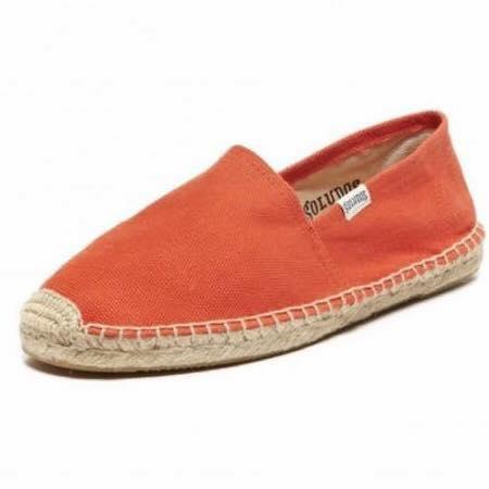 【Soludos】美國經典草編鞋-基本款草編鞋-橘 0
