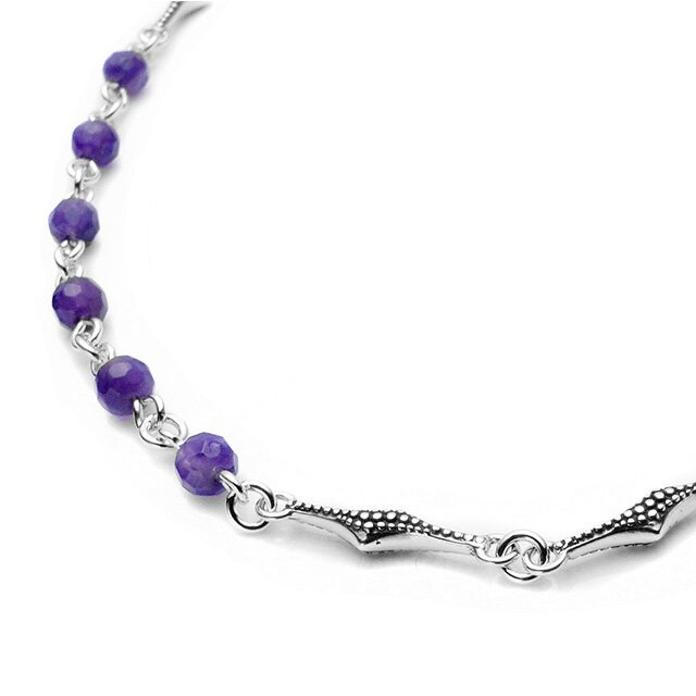 【海外訂購】【Bloody Mary】Albus 紫水晶純銀項鍊 60cm (BMN1223-A-60  064373B600) 1