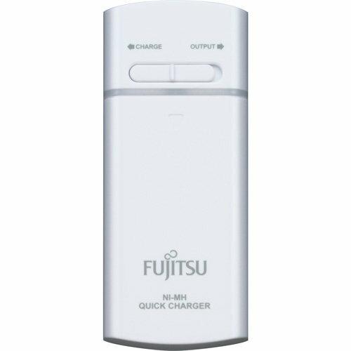 【FSC322FX-W】Fujitsu 富士通 充電電池 FSC322FX-W 3號充電電池2入+充電器(白色)