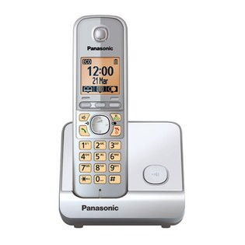 【TG6711】Panasonic 國際牌數位DECT 無線話機 KX-TG6711 TW / 銀